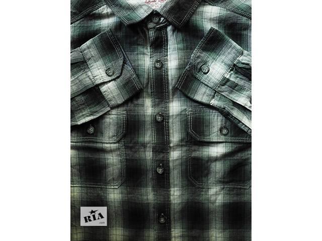 купить бу Мужская рубашка в клетку TU Authentic Quality М в Полтаве