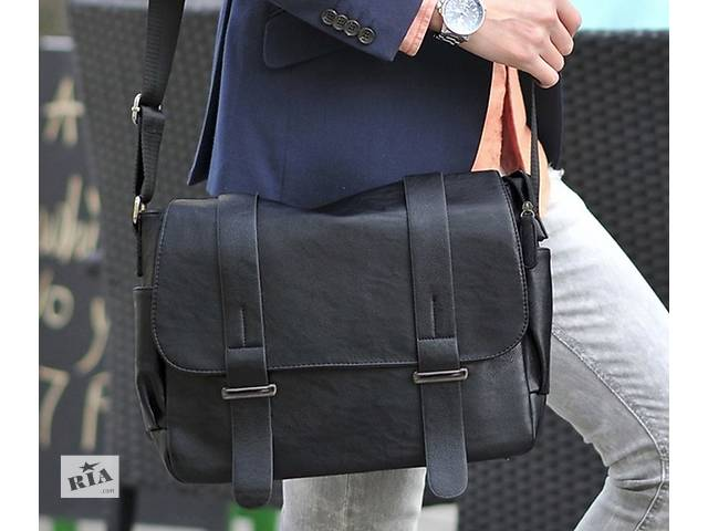 купить бу Мужская сумка формата А4. Размер 35-28-16 см в Киеве