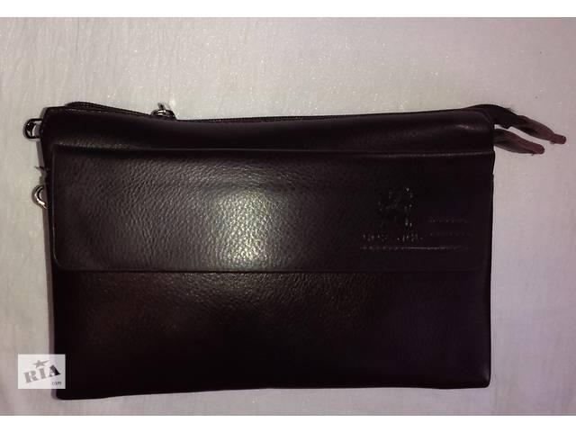 бу мужская сумка компактная вместительная с клапаном на магнитах в Одессе