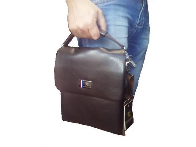 мужская сумка планшетник кожаная стильная для работы и учебы- объявление о продаже  в Одессе