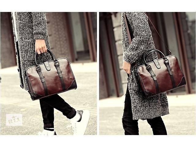 Мужская сумка-портфель. Размер 35-26-7 см- объявление о продаже  в Киеве