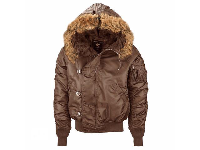 купить бу Мужская зимняя куртка N-2B Parka Alpha industries (Альфа индастриз) парка в Киеве