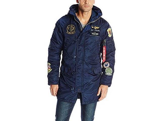 бу Мужская зимняя куртка N-3B Pilot parka в Киеве