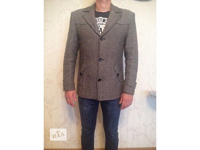 купить бу Мужское драповое пальто короткое Yan Daniloff р48 в Житомире