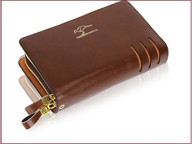 Мужской классический клатч в деловом стиле с двумя ручками.Подарок!- объявление о продаже  в Киеве