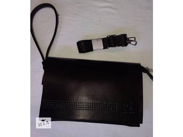 мужской клатч кожаный классический- объявление о продаже  в Одессе