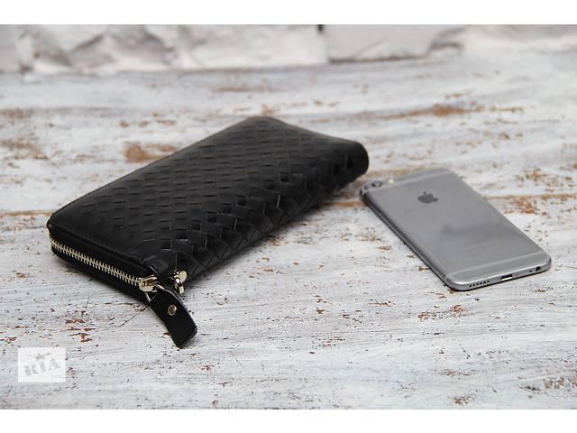 Мужской клатч-портмоне в стильном дизайне.100% кожа.Ручная работа- объявление о продаже  в Киеве