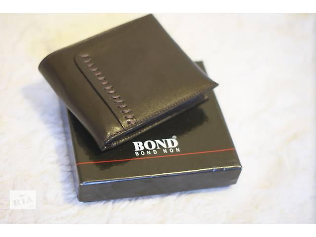 бу Мужской кошелек потмоне Bond натуральная кожа , новый в наличии  в Николаеве