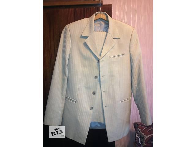 купить бу Мужской костюм светлый р.44 в Никополе