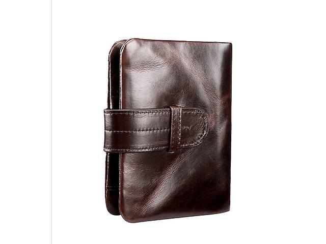 купить бу Мужской кожаный новый кошелек в Киеве