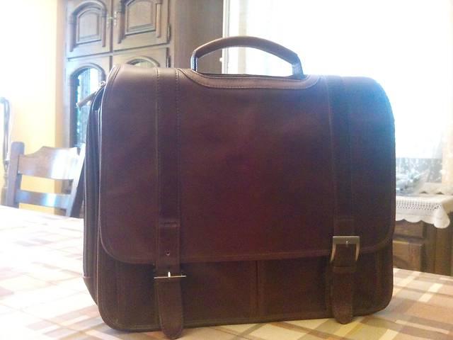 купить бу Мужской кожаный портфель в Киеве