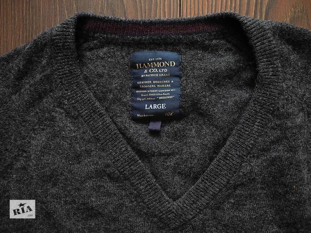 бу Мужской свитер кофта шерстяной HAMMOND by Patrick Grant L в Полтаве