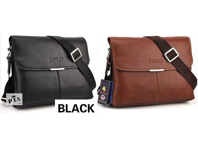 купить бу Мужскую сумку-портфель Polo. Варианты есть в Киеве