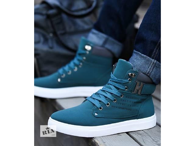 Мужские ботинки Осень/Весна- объявление о продаже  в Геническе