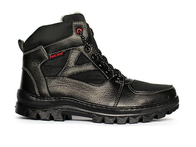 купить бу Мужские ботинки спортивные зимние черные.  в Днепре (Днепропетровск)