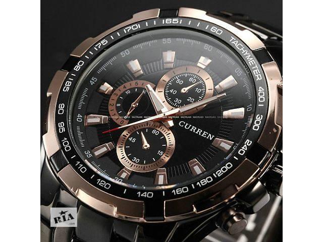 купить бу Наручные мужские часы Curren Black / Gold в Кривом Роге