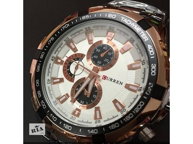 продам Наручные мужские часы Curren - в ассортименте бу в Кривом Роге