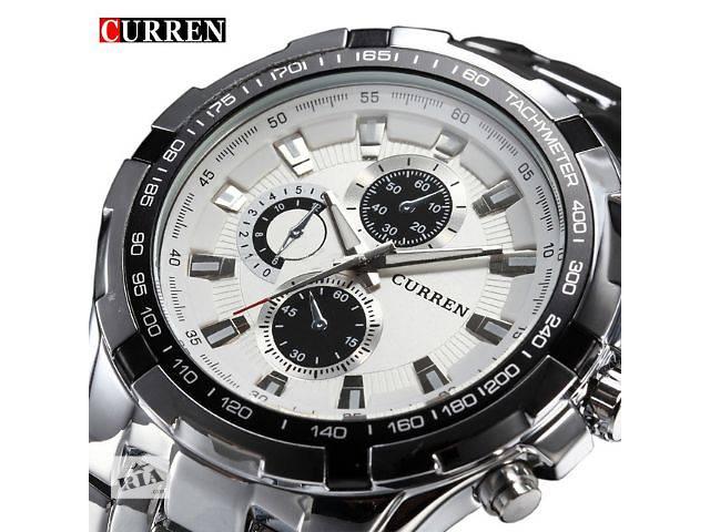 Наручные мужские часы CURREN Silver- объявление о продаже  в Кривом Роге