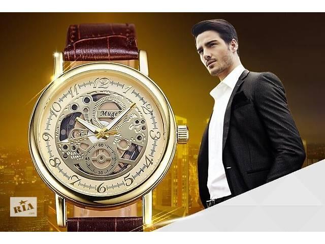 продам Наручные мужские часы Скелетон ( кварцевые ) бу в Кривом Роге
