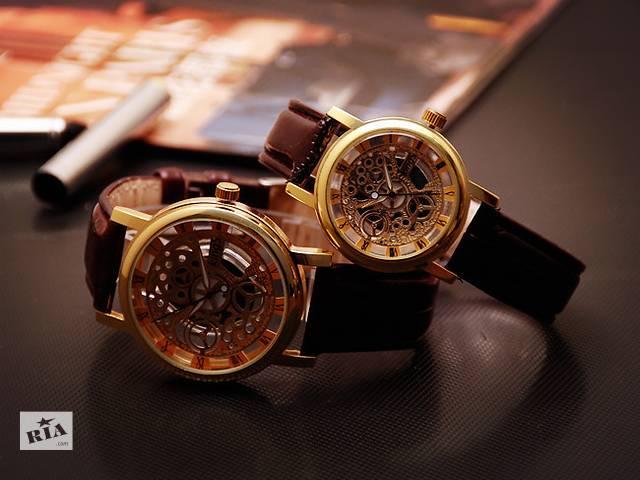 купить бу Мужские часы Скелетон ( кварцевые ) в Кривом Роге