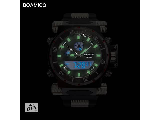 бу Крутые мужские  наручные часы BOAMIGO Водостойкие 50М в Кривом Роге (Днепропетровской обл.)
