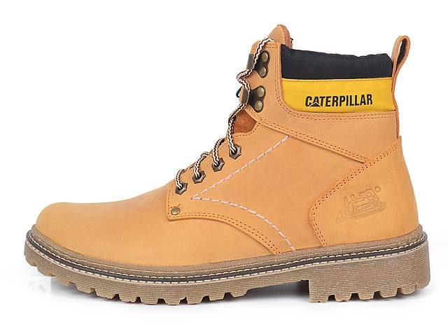 продам Мужские кожаные ботинки CAT Caterpillar бу в Харькове
