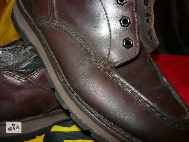 Мужские кожаные ботинки Caterpillar(CAT),г.43 (28см.) б/у.- объявление о продаже  в Николаеве