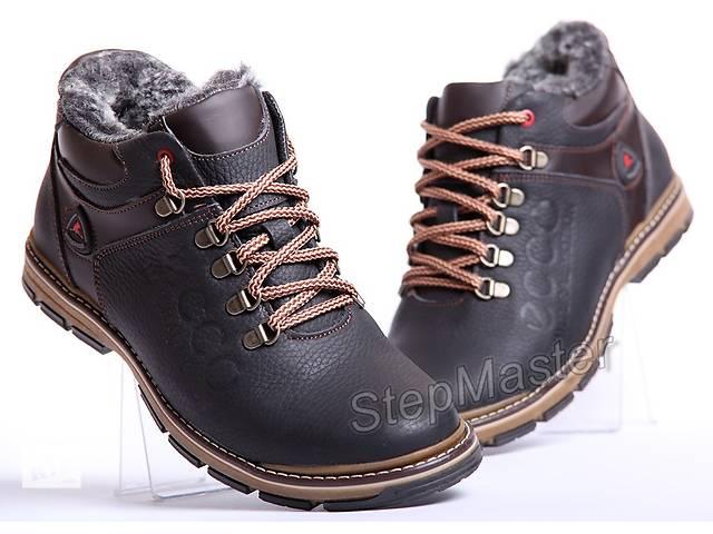 Мужские кожаные ботинки ECCO Natural Motion Receptor- объявление о продаже  в Вознесенске