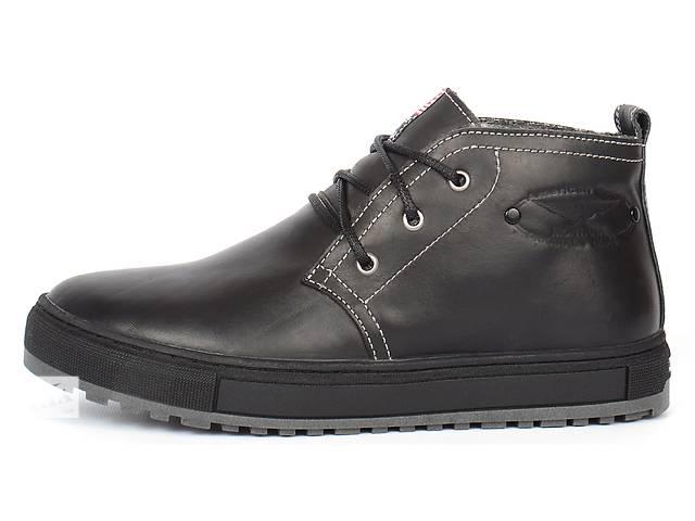 купить бу Мужские кожаные ботинки Montana casual в Харькове