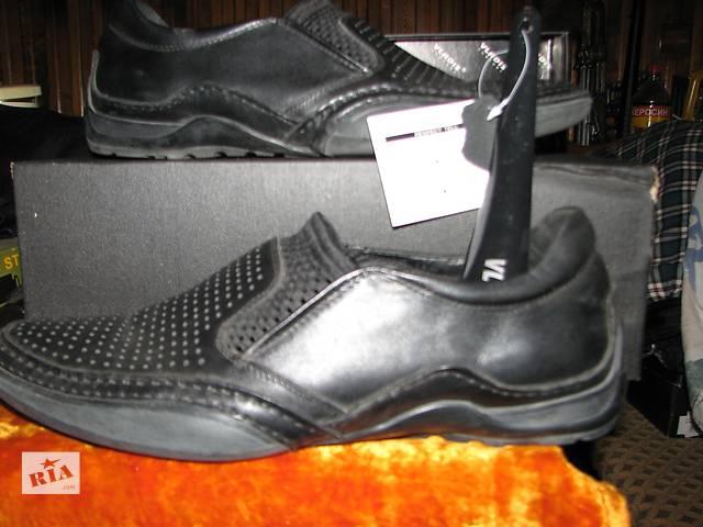 бу Мужские кожаные ботинки новые в Львове