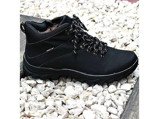 продам Мужские кожаные зимние ботинки бу в Львове