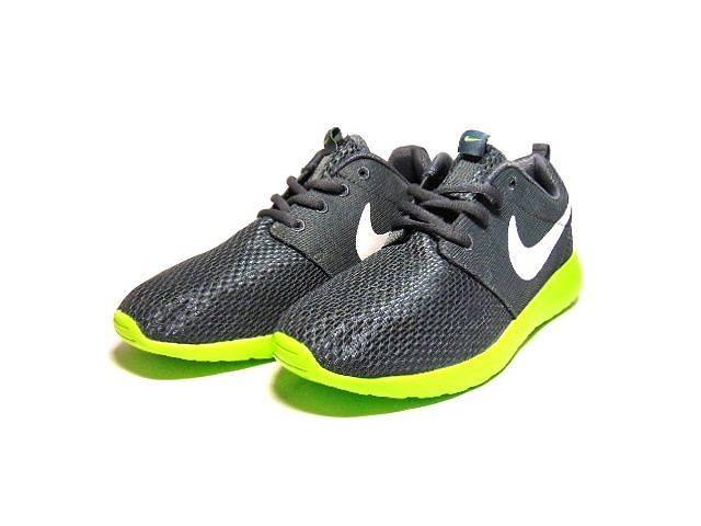 продам Мужские кроссовки Nike Roshe Run (Grey & Green) бу в Харькове