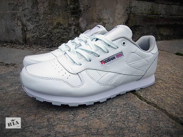 продам Мужские кроссовки Reebok Classic (белые) бу в Сумах