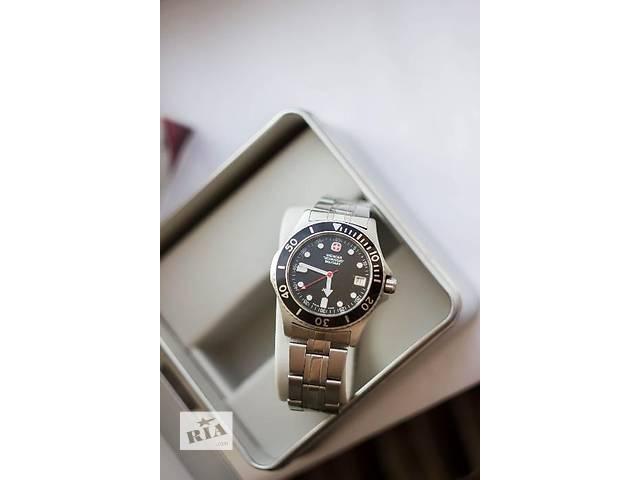 Мужские кварцевые часы Wenger Swiss Military 7907- объявление о продаже  в Харькове