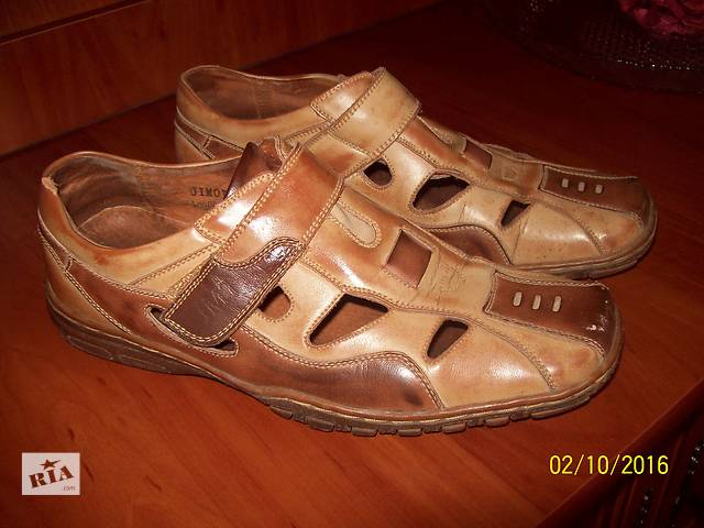 Мужские летние туфли-сандалии- объявление о продаже  в Днепре (Днепропетровск)