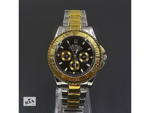 купить бу Мужские наручные часы rosra gold / black в Кривом Роге