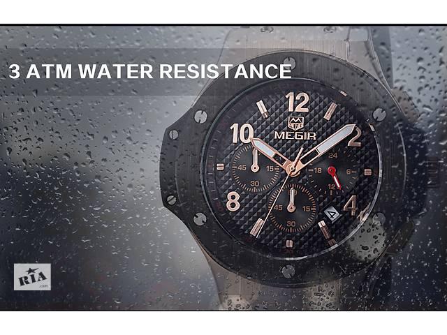 Крутые мужские наручные часы Megir ( Hublot  Big Bang )- объявление о продаже  в Кривом Роге (Днепропетровской обл.)