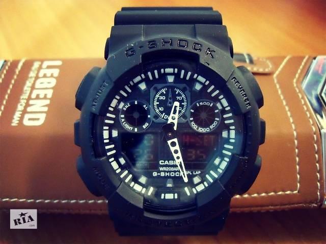 Мужские спортивные часы Casio G-Shock GA-100. Лучшая цена- объявление о продаже  в Киеве
