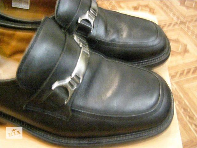 продам Мужские туфли. Италия.Натуральная кожа.Добротные. бу в Ромнах
