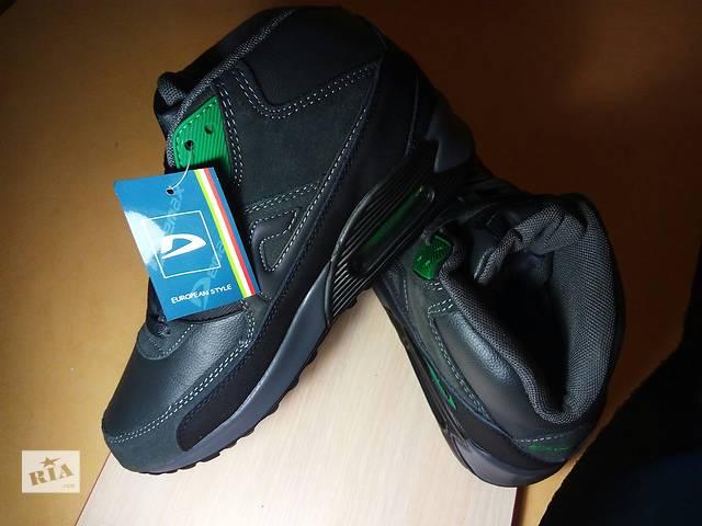 Мужские зимние кожаные кроссовки Air Max.- объявление о продаже  в Харькове