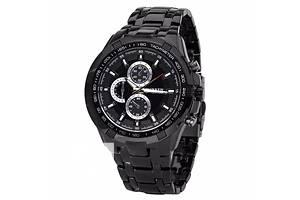Мужские наручные часы Curren Chronometer Granit с подсветкой,самая Низкая цена, Высшее качество!!!