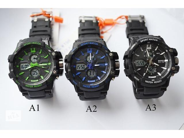 купить бу Мужские наручные часы skmei 0990 в Львове