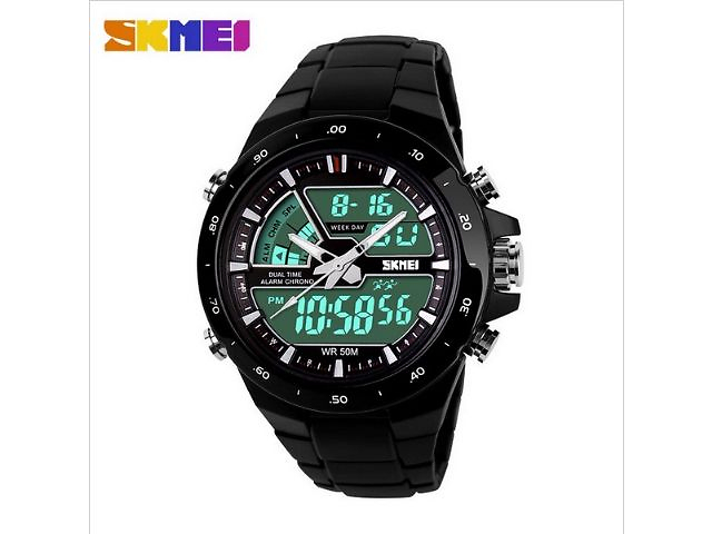 купить бу Мужские наручные часы skmei 1016 в Львове