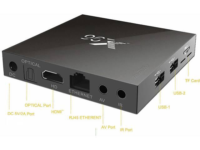 купить бу X96 SMART TV BOX тв бокс IPTV s905x 2gb/16gb.+ 900 беспл. теле в Одессе