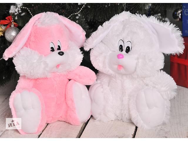 Мягкая плюшевая игрушка Зайчик- объявление о продаже  в Киеве