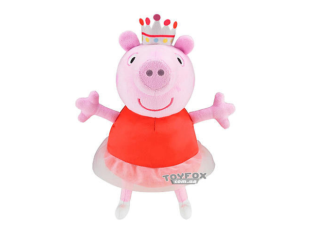 Мягкая интерактивная игрушка пеппа peppa pig