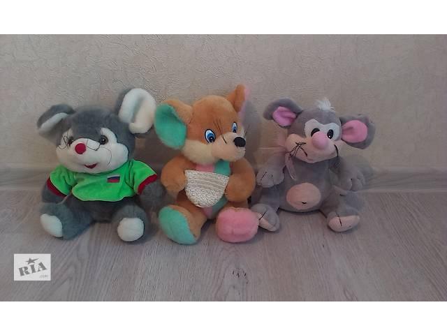 продам Мягкие игрушки Мыши (3 шт) бу в Киеве