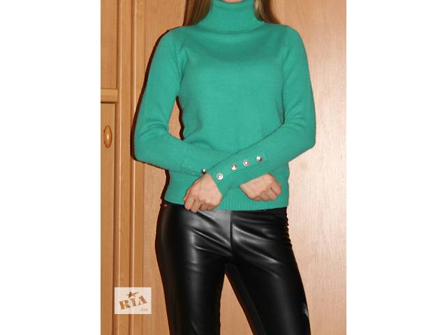 мятный свитер Junker- объявление о продаже  в Алчевске