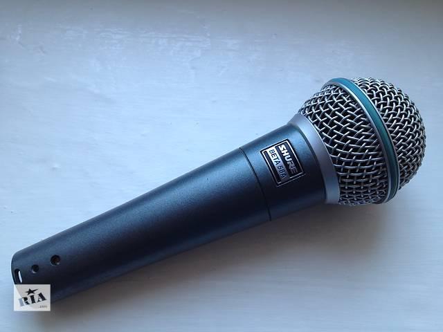 бу Микрофон SHURE BETA 58A (Оригинал, вот оф. дистрибутора в Украине!) в Луцке