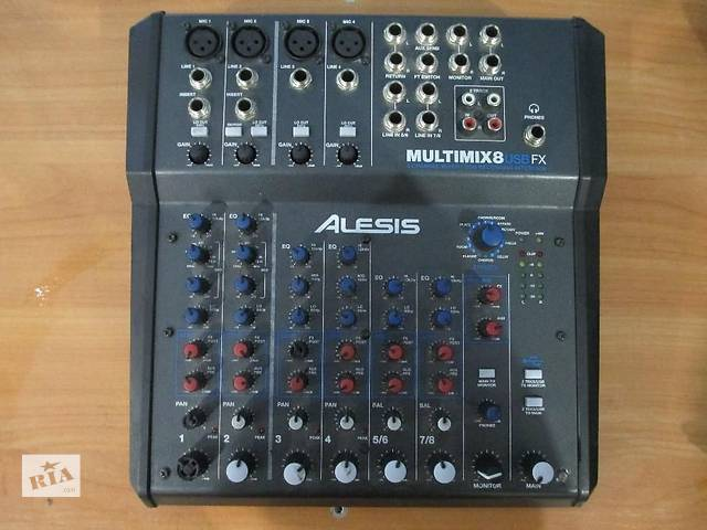 бу  Микшерный пульт Alesis MultiMix 8 USB FX  в Мариуполе
